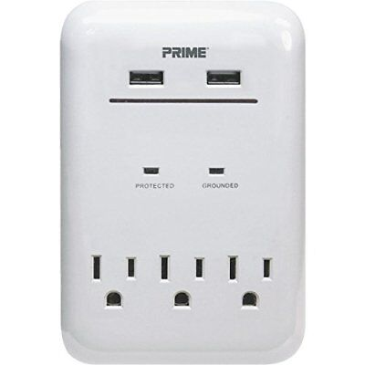 Prime Wire & Cable 3-Outlet USB Charger