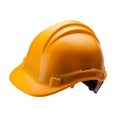 Hard Hat 6 Point Ratchet Suspension Construction Safety Helmet Ansi B207