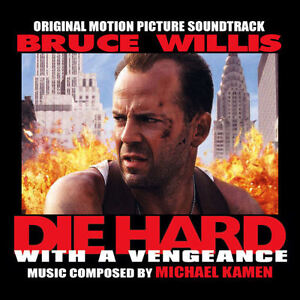 """Die Hard with a Vengeance"" - Soundtrack - like new cd - only $3"