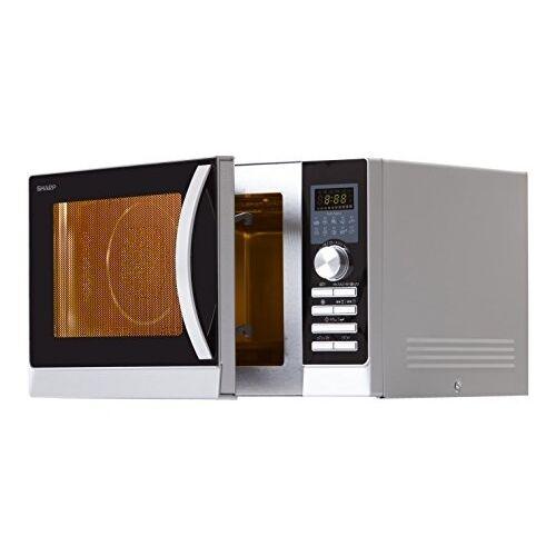 samsung mg23f301tas silber mikrowellenherd kombi mikrowelle 23l grill ebay. Black Bedroom Furniture Sets. Home Design Ideas