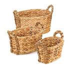 Water Hyacinth Décor Baskets