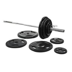 300lbs Cast Iron Grip Olympic Plate Set