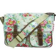 Flower Oilcloth Bag