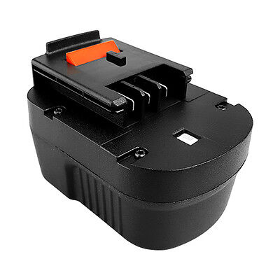 Replace for Black & Decker 12V Slide Type Battery 2000mAh Ni