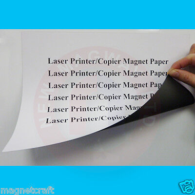 - All purpose magnet paper for laser/inkjet printers and copiers