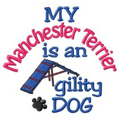 My Manchester Terrier is An Agility Dog Fleece Jacket - DC1958L Size S - XXL