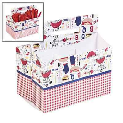 Patriotic BBQ Tableware Caddy 4th of July Decoration - 4th Of July Tableware