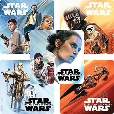 Star Wars Favor Bags (20 Star Wars Rise of Skywalker STICKERS Party Favors Supplies for Birthday)