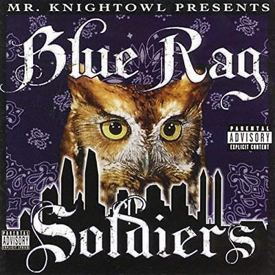 Mr.Knight Owl Präsentiert: Blue Rag Soldiers CD Neu Nuevo Verpackt