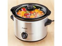 Judge Electrical Slow Cooker 1.5L Round Shape Prepare Serve Reheat JEA34R.........New