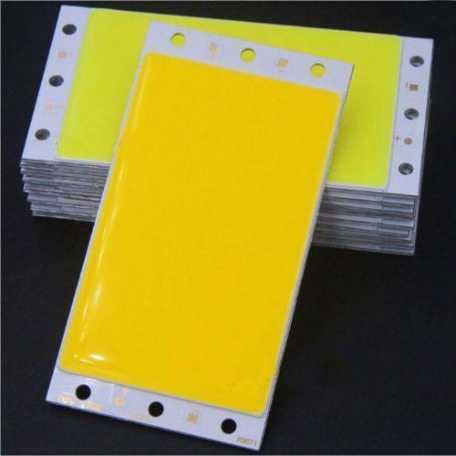 15W 94X50MM 9450 warm white COB LED Panel Strip Lights DC12v F DIY car lamps