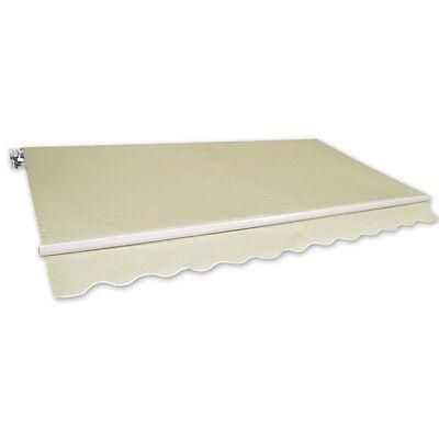 Markise Gelenkarmmarkise Alu-Markise 4x2,5m beige Sonnenschutz NEU