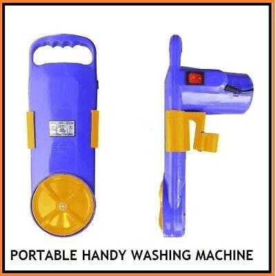 UTILIZES ONLY A BRACKET OF WATER PER WASH LOW POWER BEST HANDY WASHING MACHINE