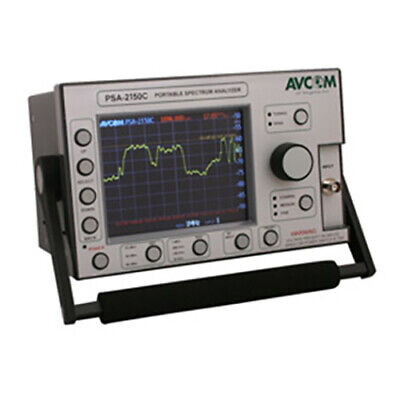 Avcom Psa-2500c1fle Portable Spectrum Analyzer Single F Lnb Enet