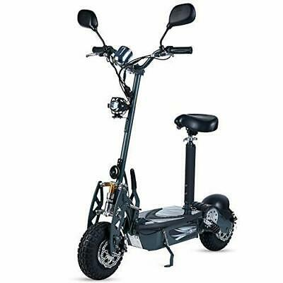Patinete electrico 800w 40 km/h scooter patin sillin plataforma gris garantia