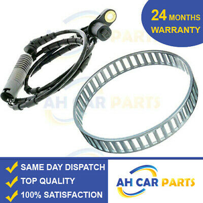 ABS RELUCTOR RING + ABS SPEED SENSOR FOR BMW 3 SERIES 330i,330d E46 (99-07) REAR