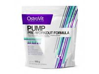 OstroVit PUMP Pre-Workout 500 g - a strong pre-workout!! Great price!