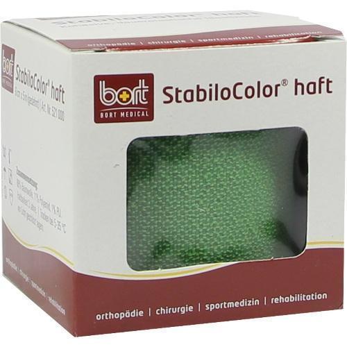 BORT StabiloColor haft Binde 6cm grün 1 St