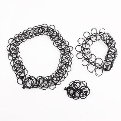 Tatoo SET Magic Kette Choker  Armband Ring*