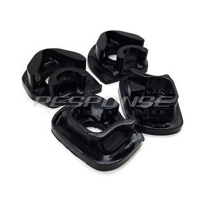 Energy Suspension Motor Mount Inserts Black Fits 02 05 Civic Si Sir 02 06 Rsx