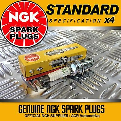4 x NGK SPARK PLUGS 7075 FOR RELIANT RIALTO ALL