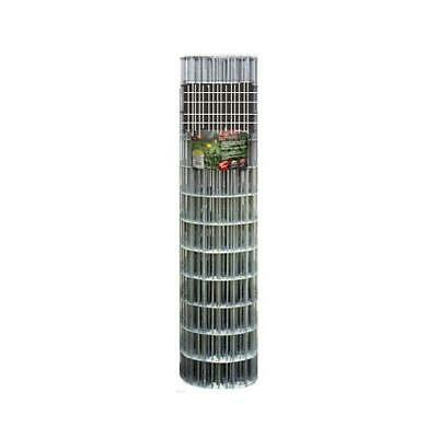 Galvanized Welded Wire Fence 1 X 12-in. Mesh 16-ga. 30-in. X 10-ft.