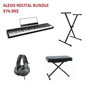 BIG SALE ON DIGITAL PIANO BUNDLES! ALL-IN-ONE BRAND NEW PIANO BUNDLES STARTING AT 374.99$!!