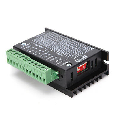 Tb6600 Single Axis 4a Stepper Motor Driver Controller 9-40v Micro-step Cnc