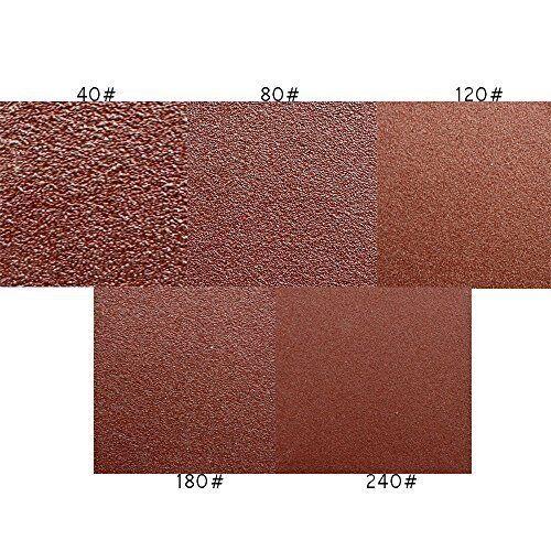 Punched Sanding Discs 5 inch Orbital Sandpaper Disc 40,60,120,150 Polisher #E4
