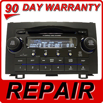 Crv Cd Changer (REPAIR Honda CRV CR-V Radio 6 Disc CD Changer Player 1PN4 1XN0 1XN4 1PN0)