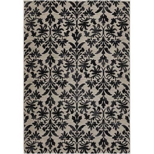 black damask rug ebay