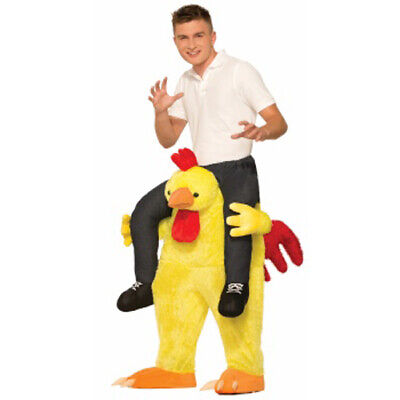 Adult Chicken Fight Costume - Costume Chicken