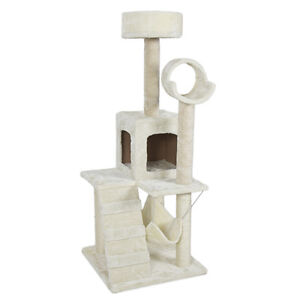 Deluxe-52-Cat-Tree-Tower-Condo-Scratcher-Furniture-Kitten-House-Hammock