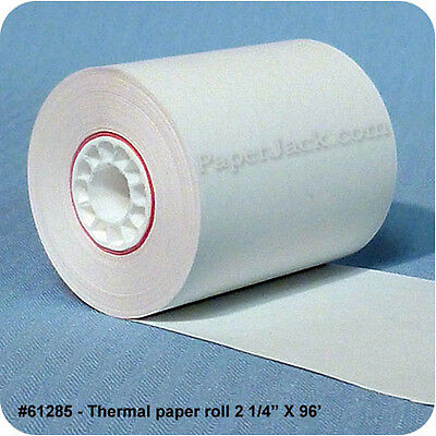 61285 Thermal Paper Rolls 2 14 X 96 - Case Of 100 Rolls