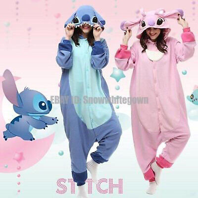 Kigurumi Pajamas Disney Lilo & Stitch Cosplay Costume Party 1 Sleepwear - Lilo Costume