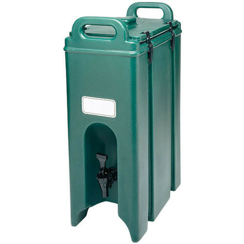 Drink Container Insulated, 4-3/4 Gallon, Slate Blue