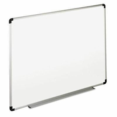 Dry Erase Board Melamine 48 X 36 White Blackgray Aluminumplastic Frame