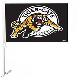Hamilton Tiger Cats Car Flag