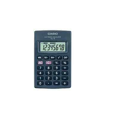 Casio Big Display 8 Digit Calculator Hl4t