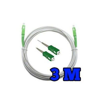 Rallonge câble fibre optique 3M APC to APC