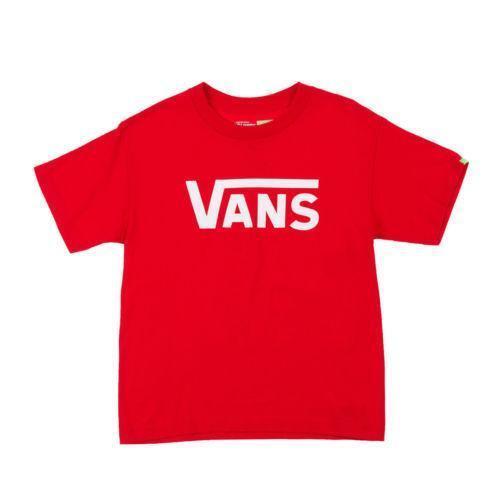 Boys Vans T Shirt Ebay