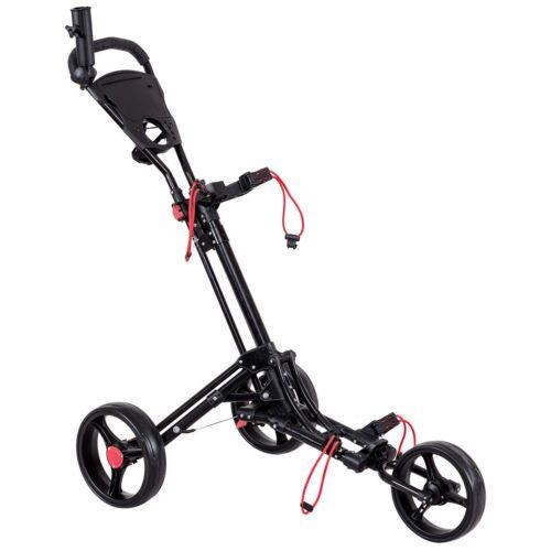Adjustable Foldable Lightweight Golf Black Cart Push Handle