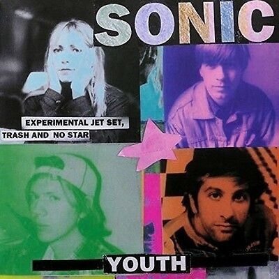 SONIC YOUTH - EXPERIMENTAL JET SET,TRASH AND NO STAR   VINYL LP NEW+
