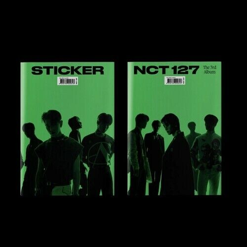 NCT 127 - The 3rd Album Sticker [Jewel Case General Ver.] [New CD]