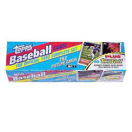 1992 Topps Baseball Cards Ebay