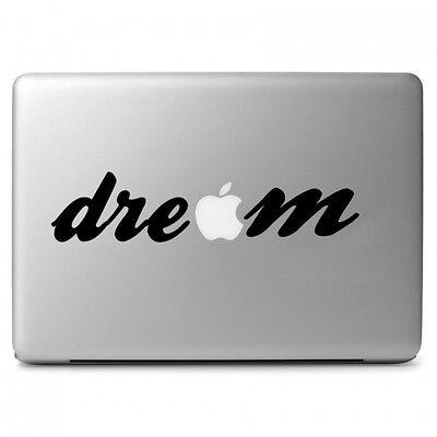 "Dream Writing Vinyl Decal Sticker for Macbook Air Pro 11 12 13 15 17"" Laptop"