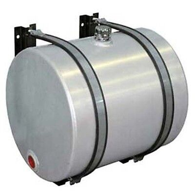 Aluminum Hydraulic Oil Tank Reservoir - 50 Gallon - Side Mount - Brackets Includ