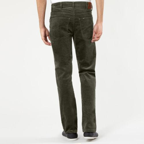 Olive Green Jeans Mens