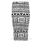 Aztec Bodycon Skirt