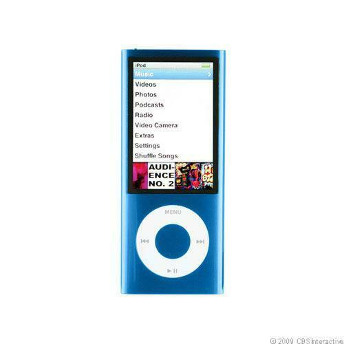 ipod nano 5th generation 16gb blue ebay. Black Bedroom Furniture Sets. Home Design Ideas